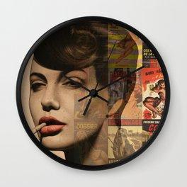 LES PULPS FRANCAISES Wall Clock