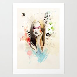 Somthing About You Art Print