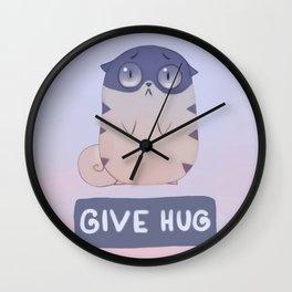 Boggart Hug Wall Clock