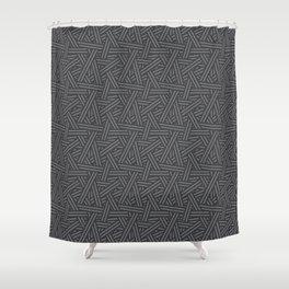 Interweaving Lines Shower Curtain