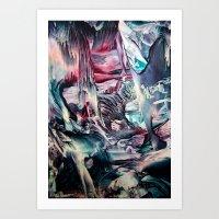 imagine Art Prints featuring Imagine  by ART de Luna