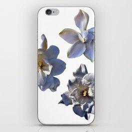 3 White Gardenias [Cecilia Lee] iPhone Skin