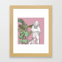 I Want To Get Away Framed Art Print