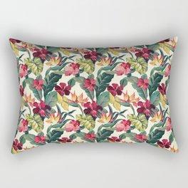 Colorful tropical garden Rectangular Pillow