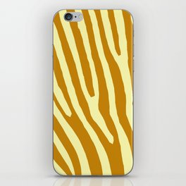 Chocolat Zebra iPhone Skin