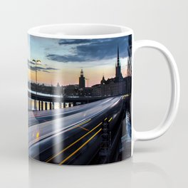 Stockholm Night - Slussen Coffee Mug