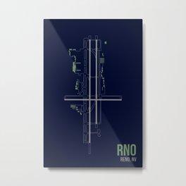 RNO Metal Print