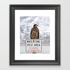 And Your Point Is? Framed Art Print