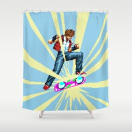 The most epic kickflip Shower Curtain
