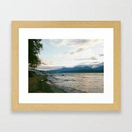 Beach'n Sunset Framed Art Print