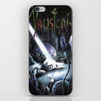 hayao miyazaki iPhone & iPod Skins featuring Nausicaä, Tribute to Hayao Miyazaki by Don Giancarli