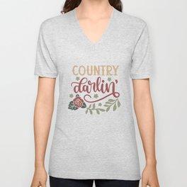 Country Darlin' Unisex V-Neck