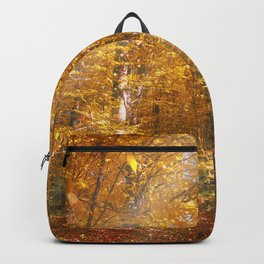 Autumn Forrest Gold Rays Backpack