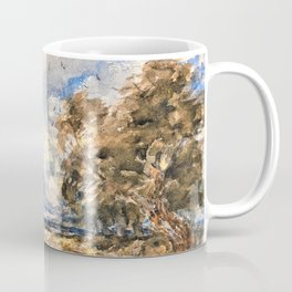 Shepherding the Flock, Windy Day - Digital Remastered Edition Coffee Mug