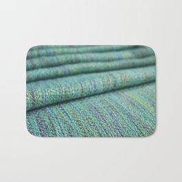 Advancing twill, hand dyed tencel Bath Mat