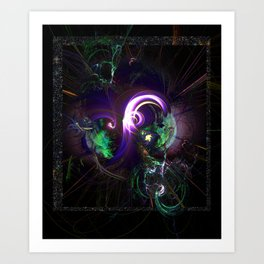 Chaos to Cohesion Art Print