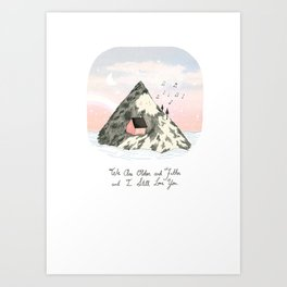 Older and Fatter Art Print
