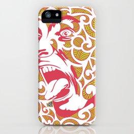 Haka Dance iPhone Case