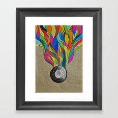Colour Sketch  Framed Art Print