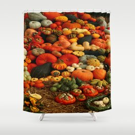 Bountiful Harvest Shower Curtain