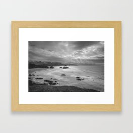 Clatsop - Oregon Coast Framed Art Print