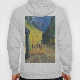 Vincent can Gogh's Cafe Terrace at Night Hoody