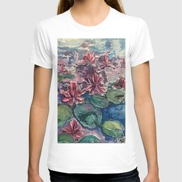 lotus pond T-shirt