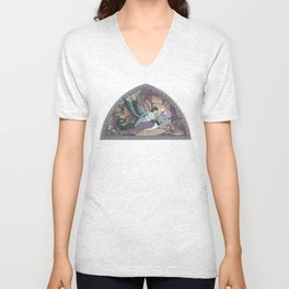 Saint George and the Dragon Unisex V-Neck