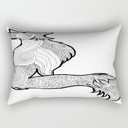 Cell cover/Skin Henna Skin Rectangular Pillow