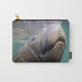 I Heart Manatees Carry-All Pouch