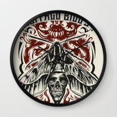 Buffalo Bill Lotion Poster Wall Clock