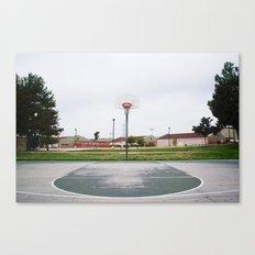 Basketball Sanctuary Canvas Print