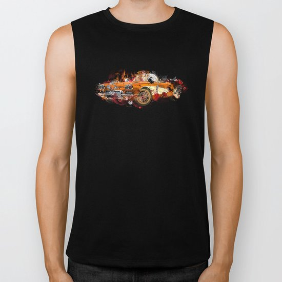 cars Biker Tank