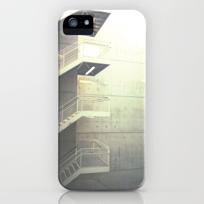 Industrial Stairs 02 iPhone Case