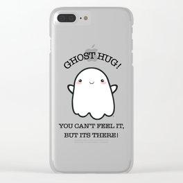 Ghost Kawaii BOO! | Halloween Clear iPhone Case