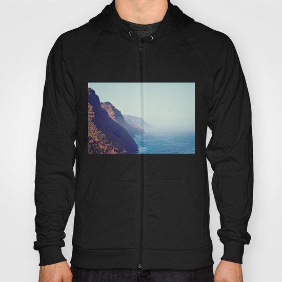 Hawaii Mountains Along the Ocean Hoody