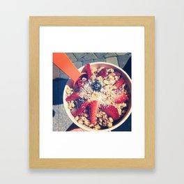 Bowl of Heaven Framed Art Print
