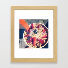 Bowl of Heaven Framed Art Print