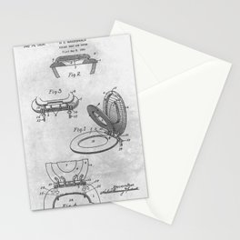 Toilet seat cover Stationery Cards
