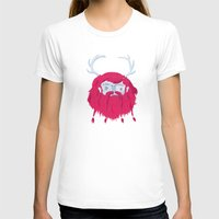antlers T-shirts featuring Antlers by The Ugly Tree