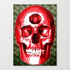 Third Eye Bones (Paisley Edition) Canvas Print