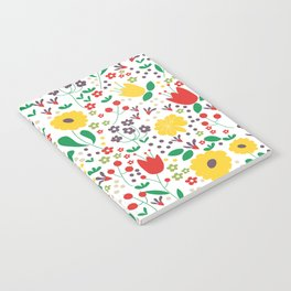 Spring Mornings Notebook