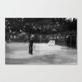 Skater Series #1 Canvas Print