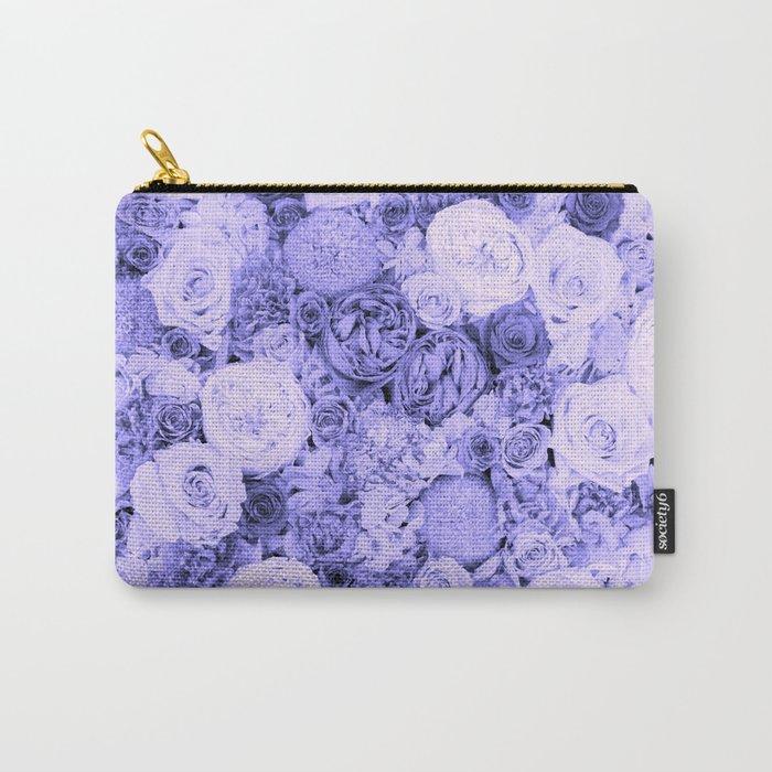 bouquet ver.blue-b Carry-All Pouch