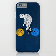 Astronaut on bicycle iPhone 6 Slim Case
