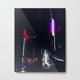 Cyberpunk Sydney Metal Print