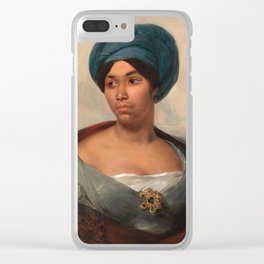 "Eugène Delacroix ""Women in a Blue Turban"" Clear iPhone Case"