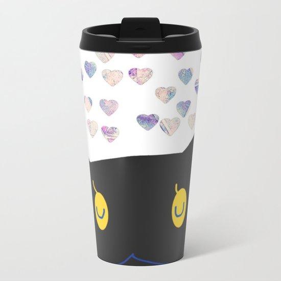 cat-392 Metal Travel Mug