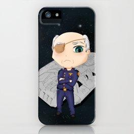 Colonel Tigh 2 | Battlestar Galactica iPhone Case