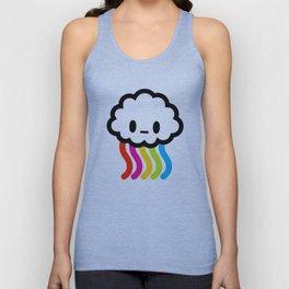 Rainbow rain Unisex Tank Top